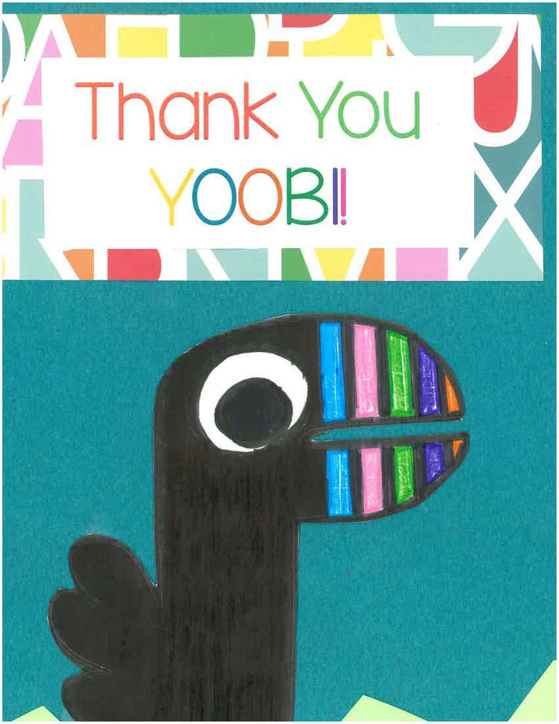 Yoobi LOVES Your Art & Thank You Notes!