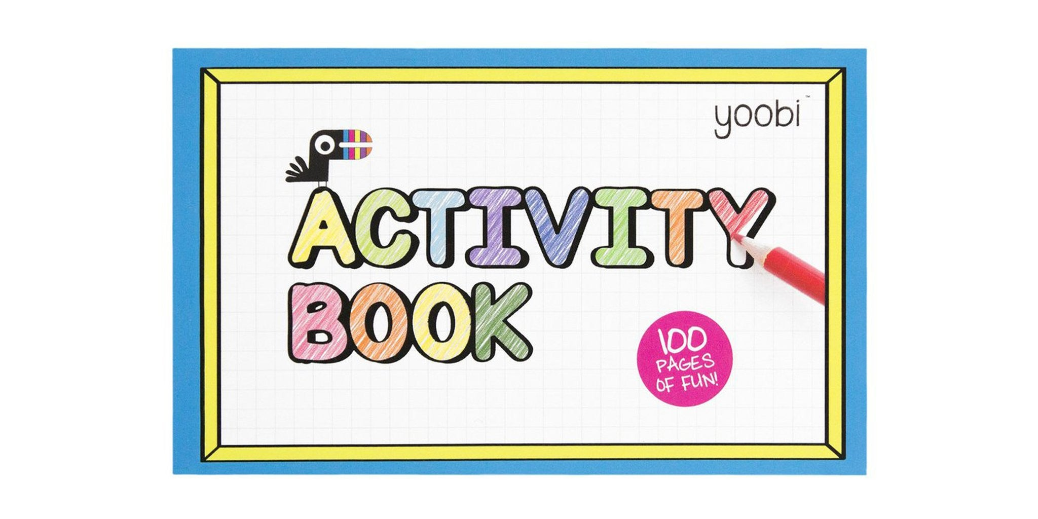 Introducing: Yoobi's Activity Book