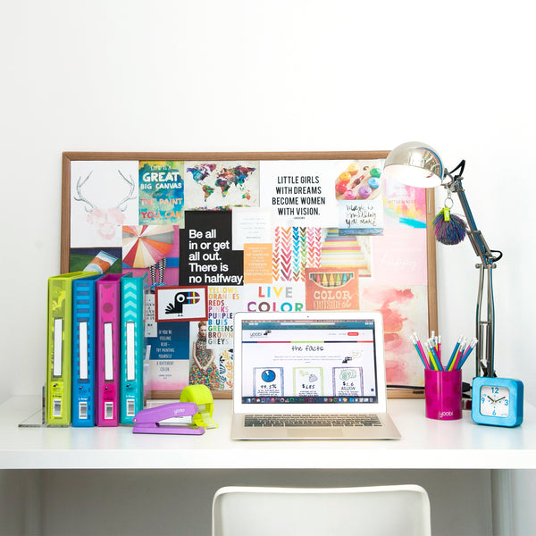 5 Cool Ways to Organize Your Desk