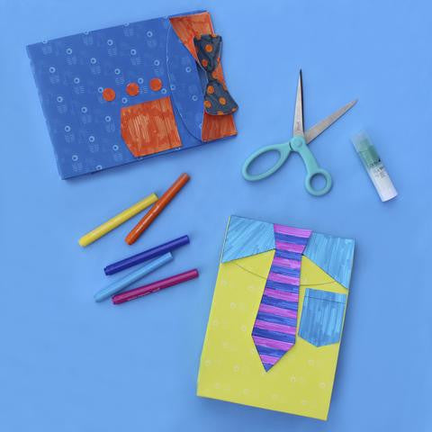 Fathers Day Gift Bag DIY