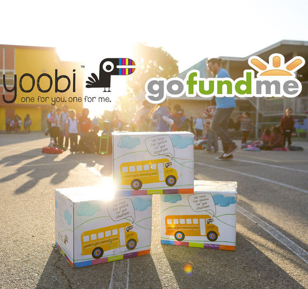Yoobi Teams Up with GoFundMe for Teacher Appreciation Month!