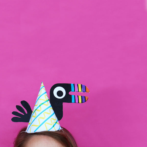 Happy Birthday Dr. Seuss! DIY Yoobi Birthday Hats
