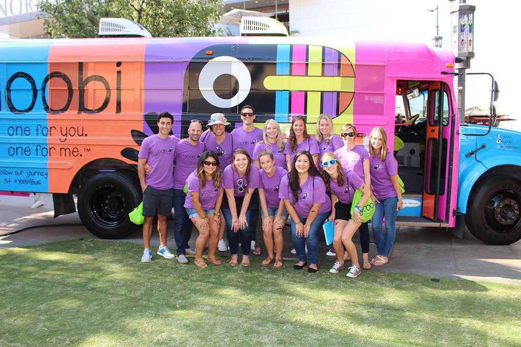 We had a BLAST at Yoobi Fun Day!