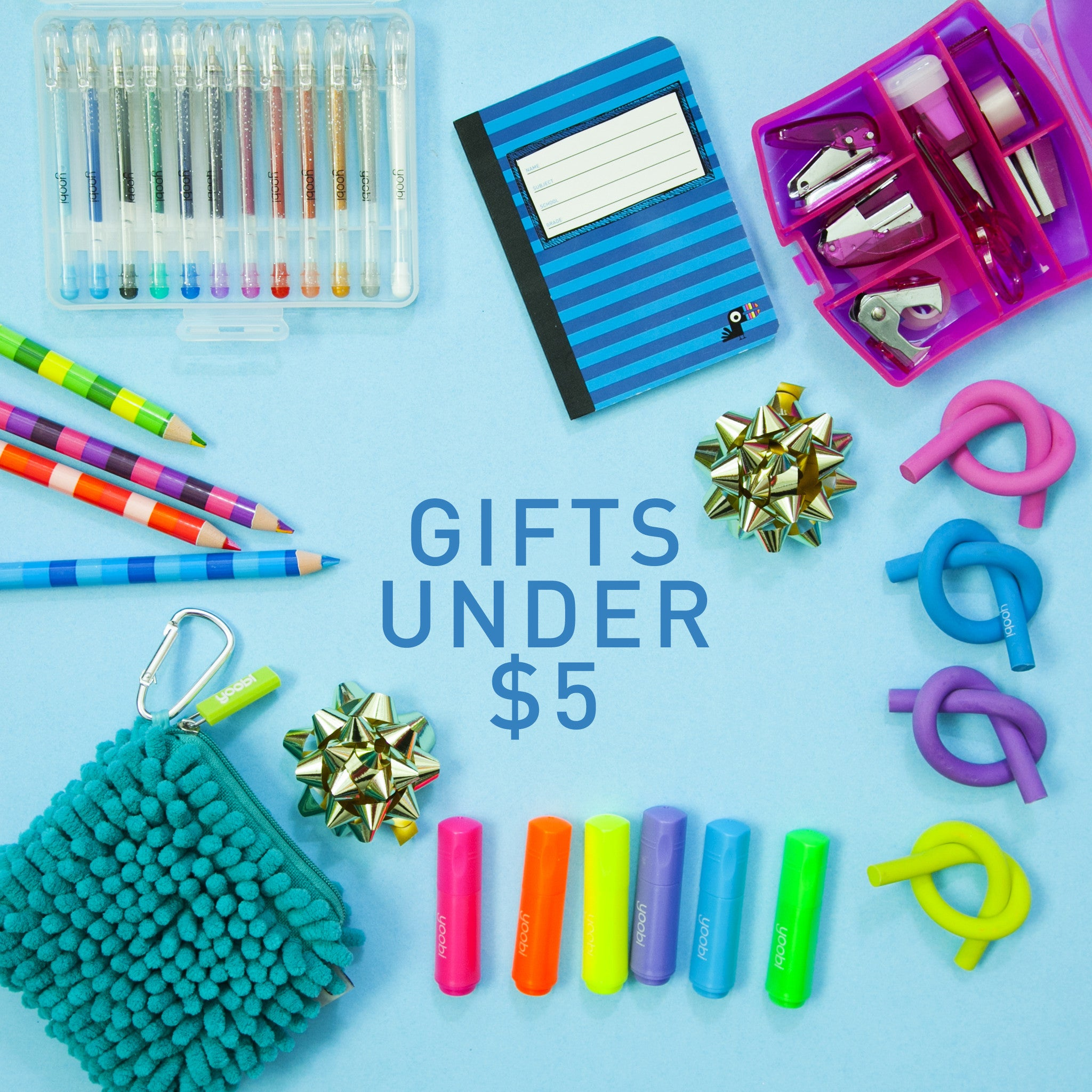 Top 5 Holiday Gifts Under $5 with Yoobi