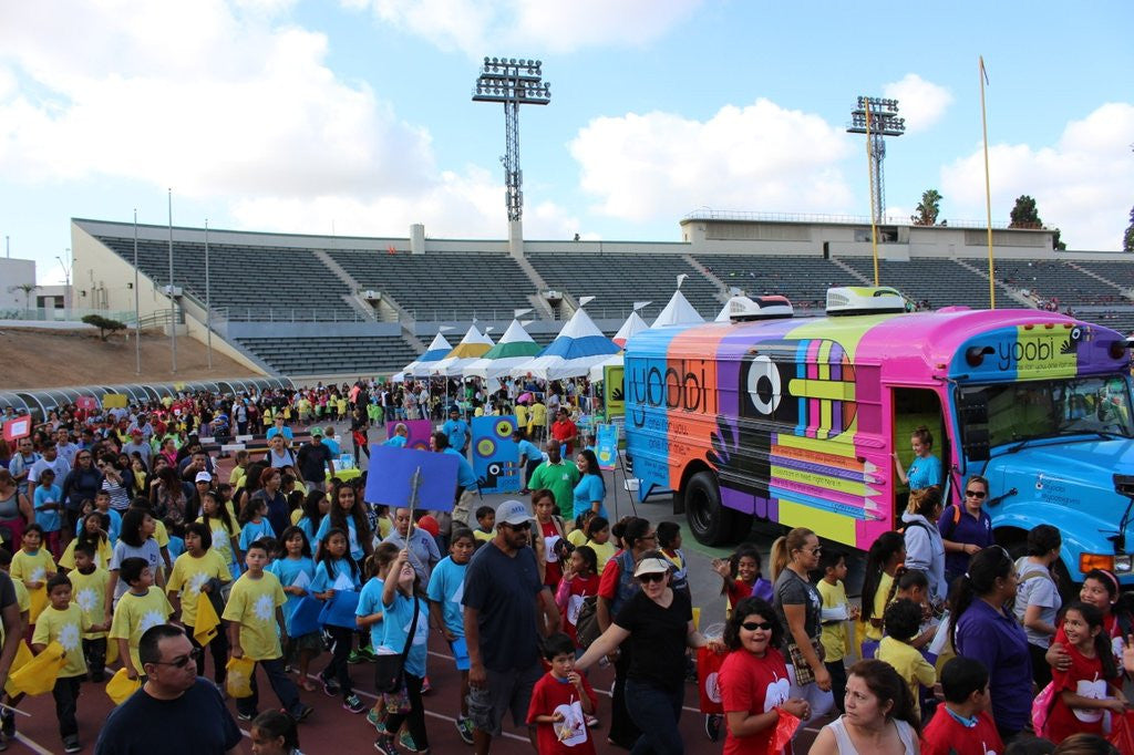 Yoobi joins LA's BEST Health Festival 2014