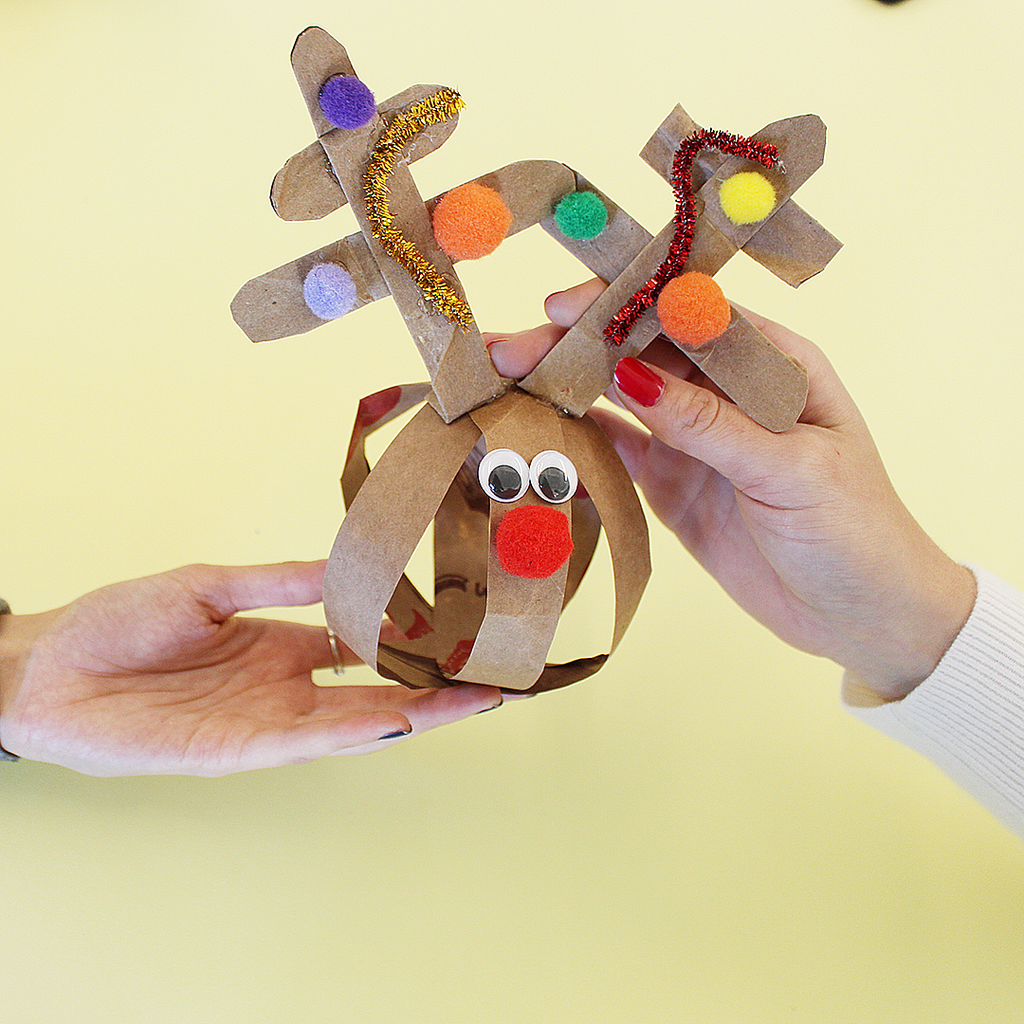 Yoobi Holiday DIY: Paper Reindeer