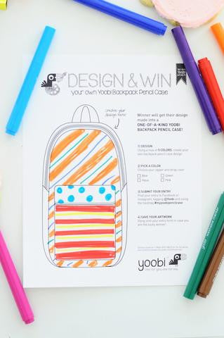 Design your own Backpack Pencil Case!