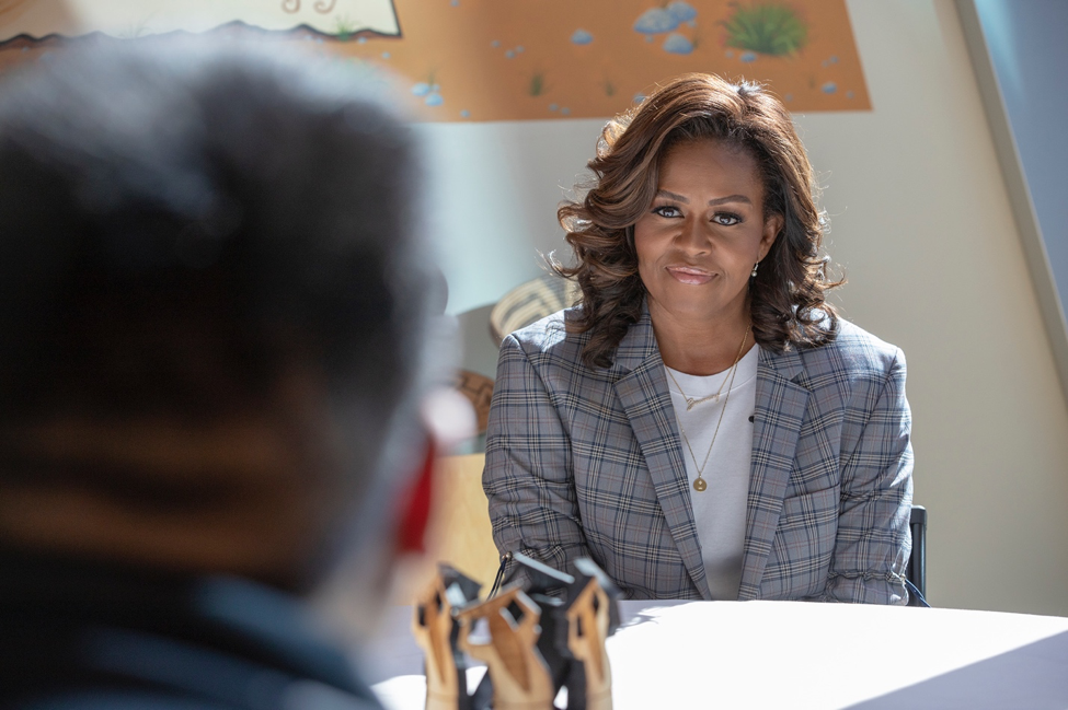 With Michelle Obama, Yoobi Announces Commitment to Native American Students