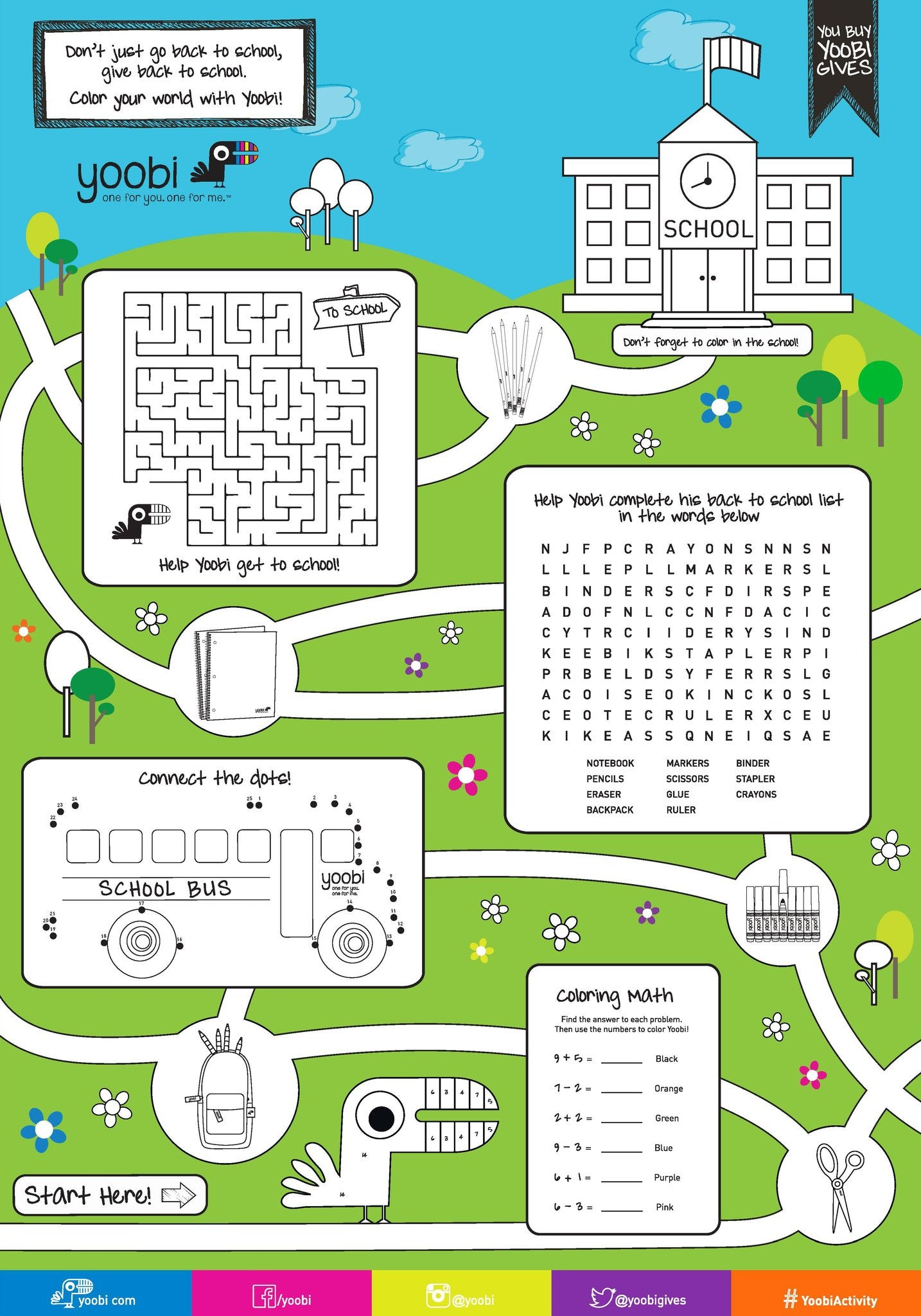 Downloadable Activity Poster
