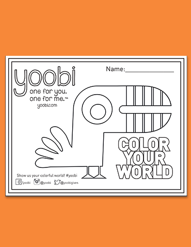 Color Your World: Toucan Coloring Sheet