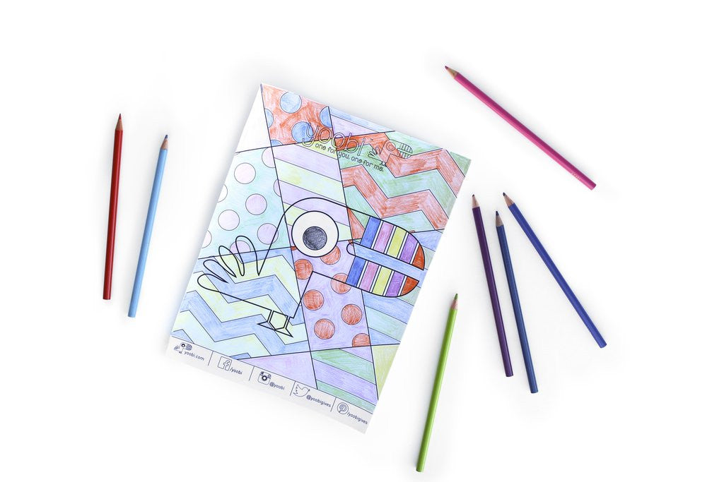Color By Criss Cross Activity Sheet