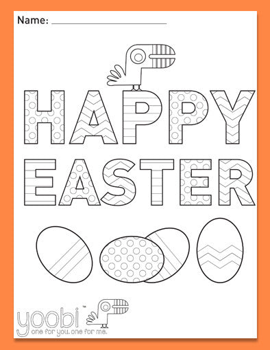 Easter Activity Sheet 2