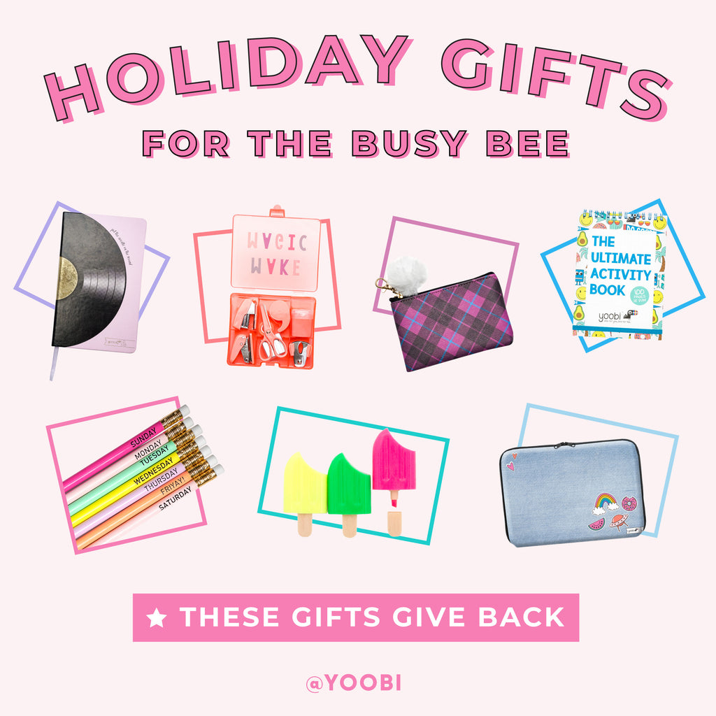Yoobi Holiday Gift Guide: For the Busy Bee
