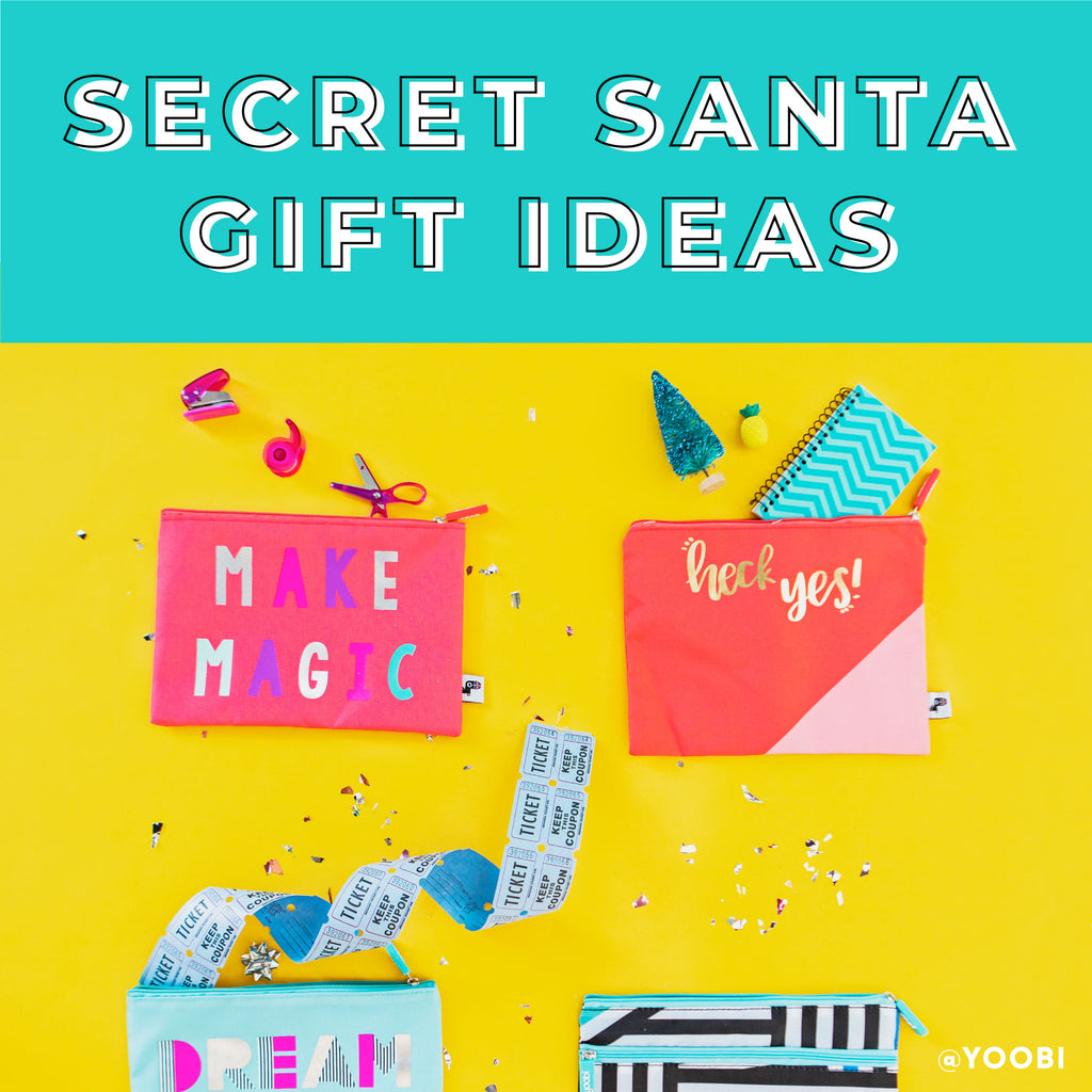 4 Fun Ideas for Secret Santa Gifts