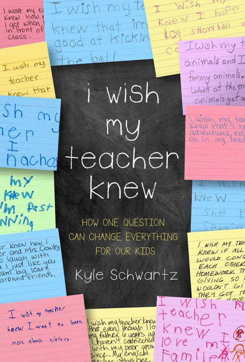 Yoobi Loves #IWishMyTeacherKnew by Kyle Schwartz