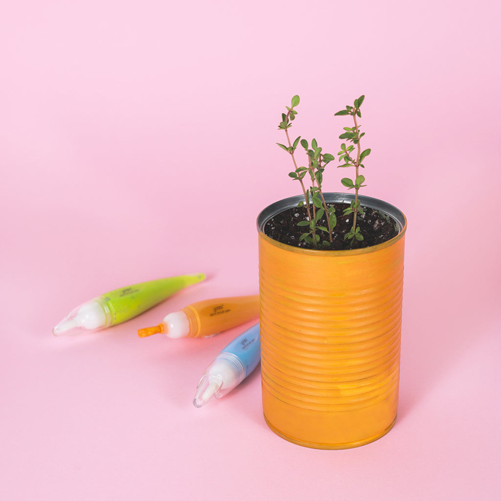 DIY Tin Can Planters for World Environment Day
