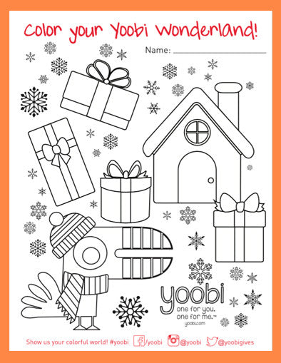 Color Your Yoobi Wonderland!