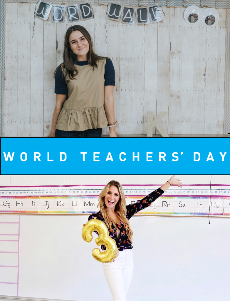 A Big Yoobi Hug to Teachers on World Teachers' Day!