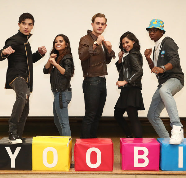It's Morphin' Time at a Yoobi Give!