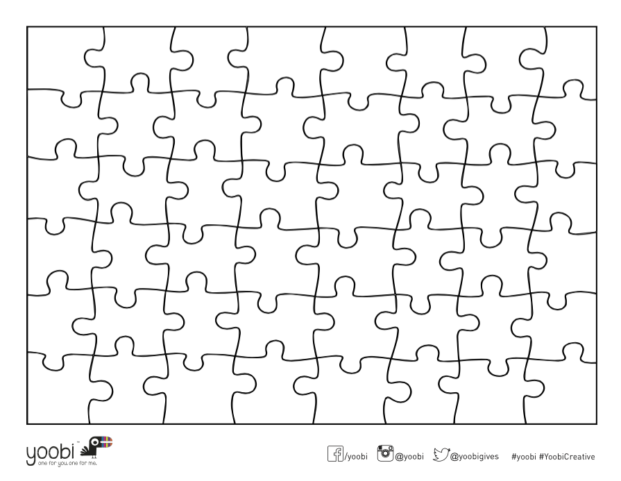 Yoobi Activities: Make Your Own Puzzle