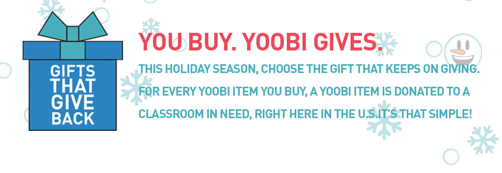 Yoobi Gifts that Give Back