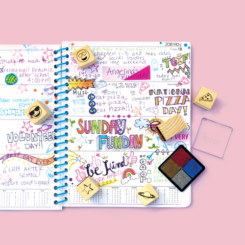 yoobi planners for back to school