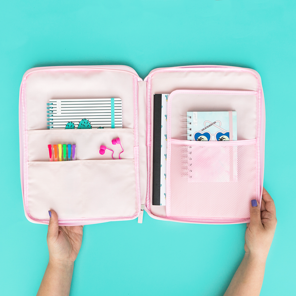 Have you heard of a document organizer? It's the desk essential you didn't know you needed. Easily portable, with multiple compartments, this popular item is a must-have for everything ranging from school all the way to travel vacation plans.