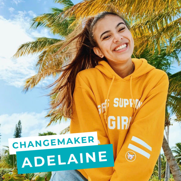 Yoobi's Changemaker Series continues with Adelaine Morin, learn more about how she strives to make change for girls with her Girls Supporting Girls line and why she looks up to Ariana Grande.