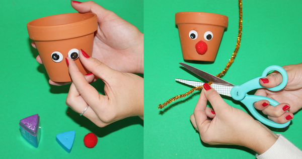 Check out this step by step Christmas DIY activity. Our reindeer pen holders are the perfect craft to hold all of your pencils, pens, and highlighters. An easy and fun activity for kids this holiday season.