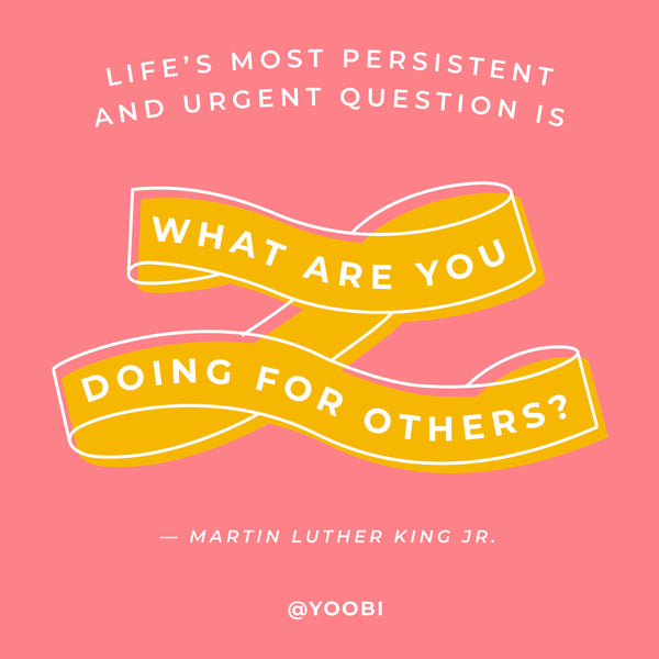 Martin Luther King, Jr. quote - celebrate MLK Day!
