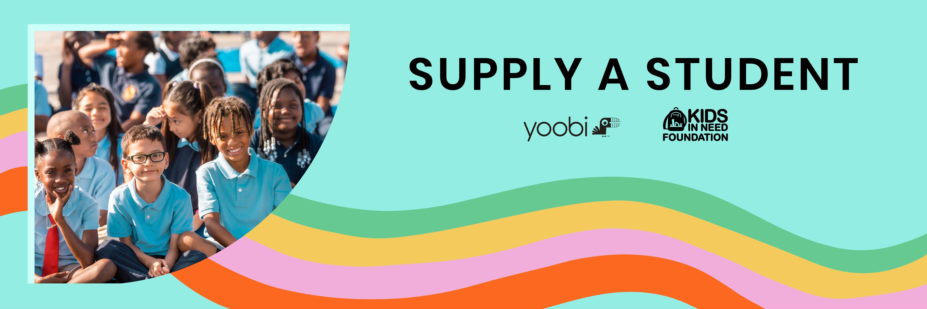 Supply A Classroom - Yoobi x Kids In Need Foundation (KINF)