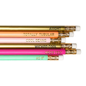 6 Pk No 2 Pencils - Brights