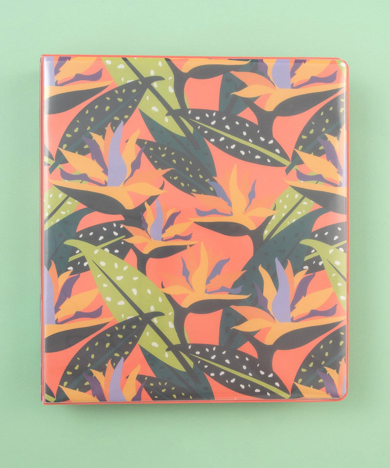 1 Inch Binder - Birds of Paradise