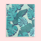 1 Inch Binder - Green Palm