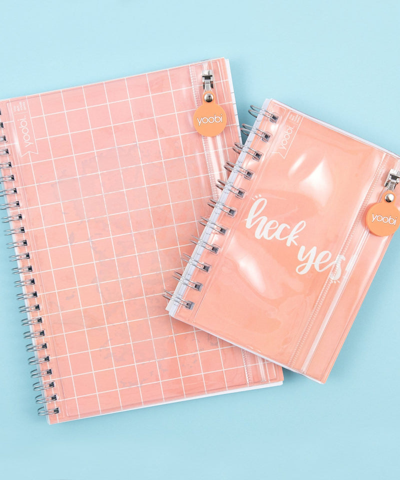2pk Journals w/ Pocket - Blush