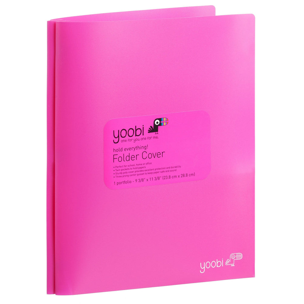 Folder with Prongs - Pink