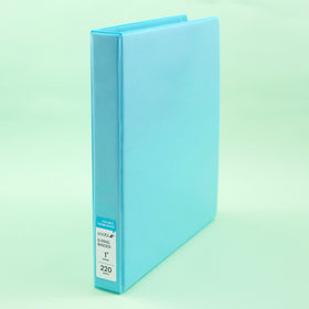 1 Inch Binder, 4 Pack - Multicolor