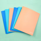 6 Pk Poly Folder - Multicolor