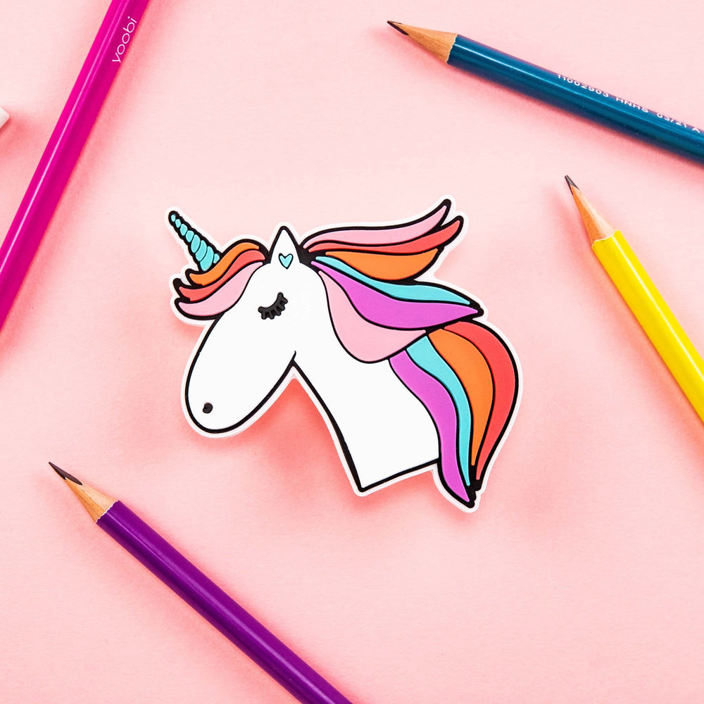 Silicon Pencil Sharpener - Unicorn