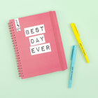 Undated Planner - Best Day Ever