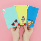 3 Pk Mini Journals - Chill Vibes