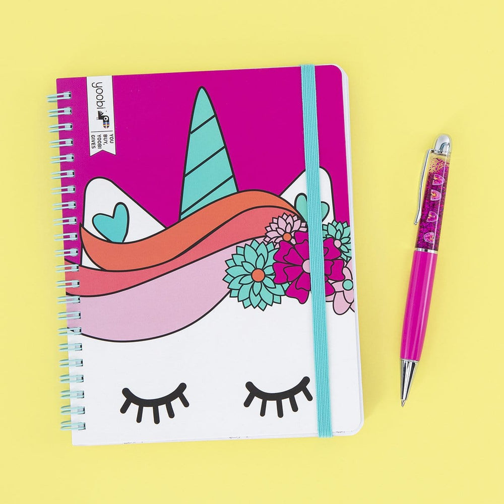 Undated Planner - Unicorn