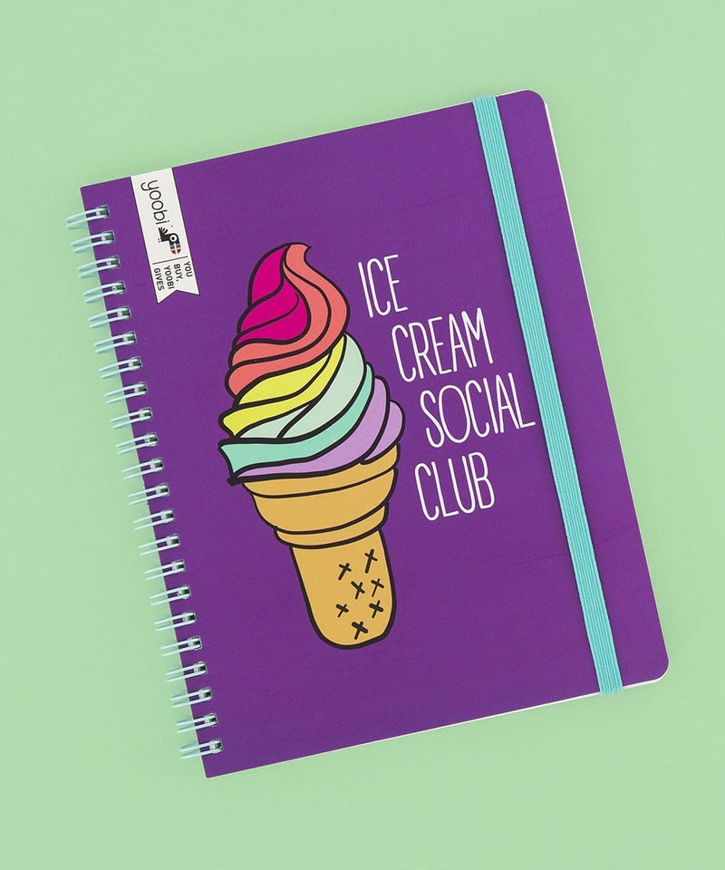 Undated Planner - Ice Cream