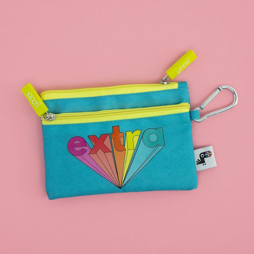 Flat Coin Purse - Be Extra