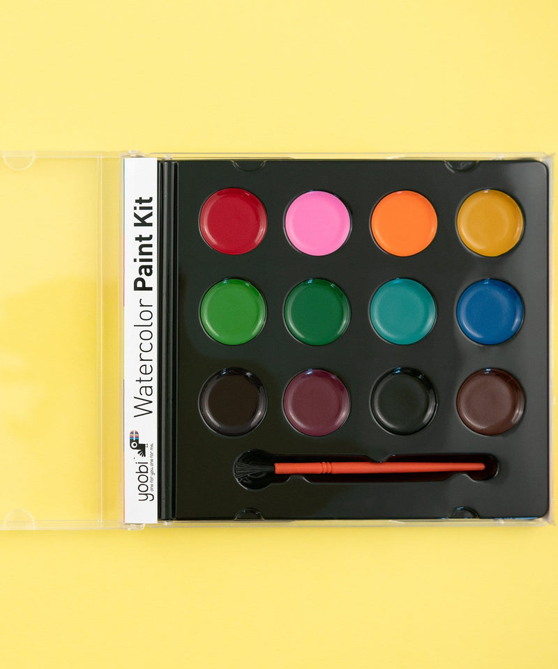 CD Set Watercolor Paint - Basic Multicolor