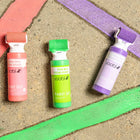Washable Roller Sidewalk Paint 3pk - Multicolor (Pink, Purple, Green Powder)