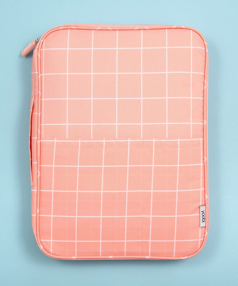 Document Organizer - Blush Grid