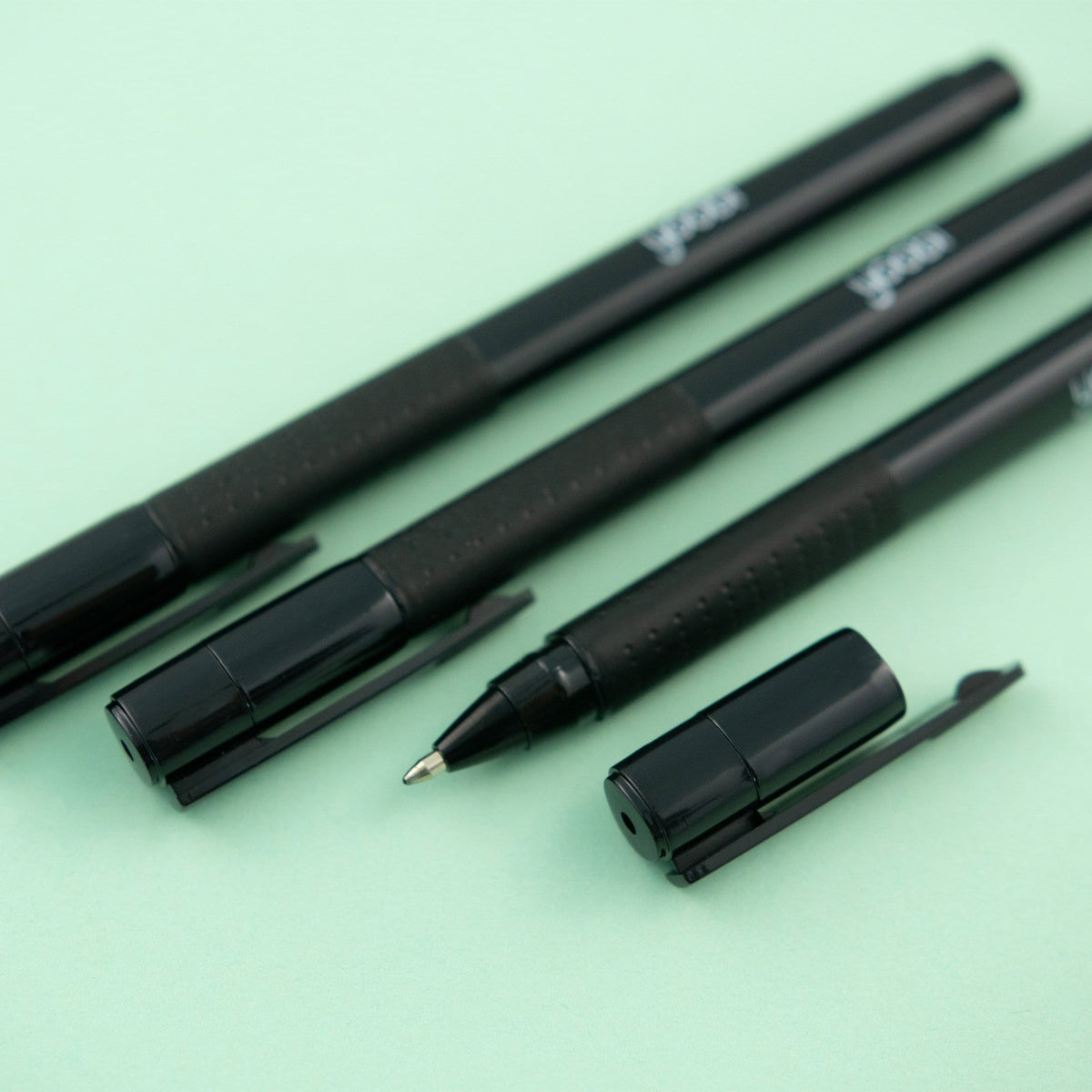 Gel Pens, 3 Pack - Black