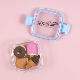 Erasers, 4 Pack  - Pink Sweets