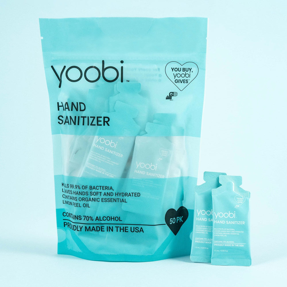 Hand Sanitizer - 50pk Bag